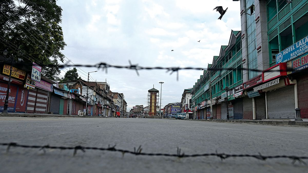 Practically every square inch of Kashmir is covered with defence personnel.