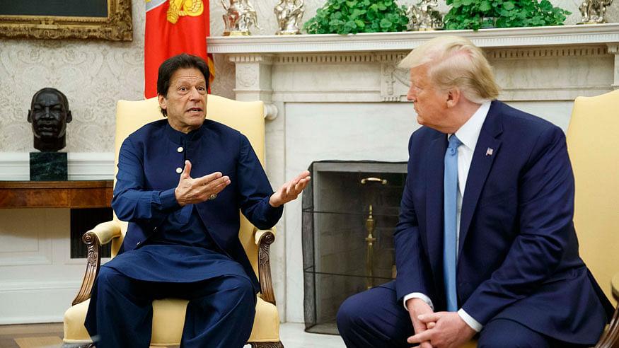 Imran Khan discusses Kashmir with Donald Trump over phone