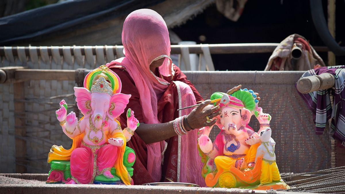 A new opportunity on this Ganesh Chaturthi: Incense sticks from temple garlands to skill poor women