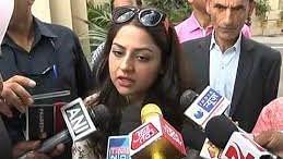 Iltija Javed, daughter of former J&K chief minister Mehbooba Mufti.