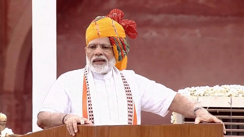 Did PM Modi lie to the nation on I-Day? Congress does a fact-check