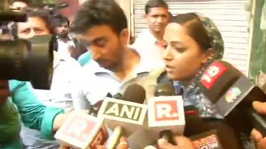 Shehla Rashid reetirates claims on J&K condition; gets into argument with reporters