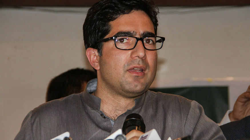 Shah Faesal steps down as JKPM president, likely to join back administration