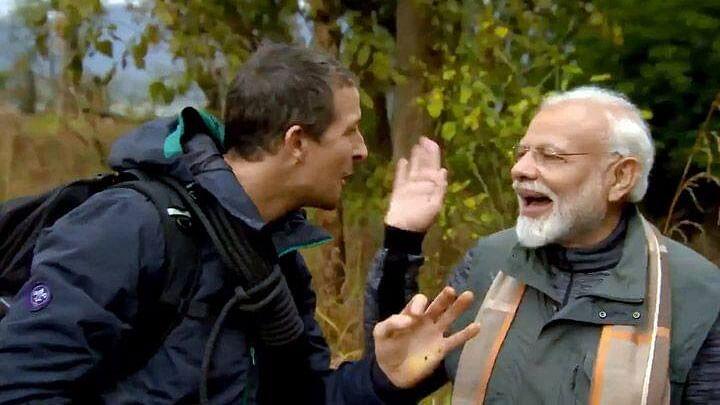 "How did PM Modi converse with Bear Grylls? PM spills  the ""secret"" on Mann Ki Baat"