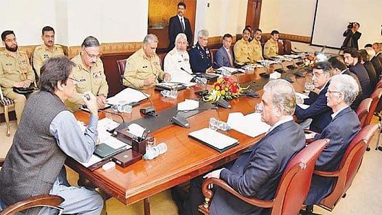 Imran Khan holds NSC meeting amid LoC flare up