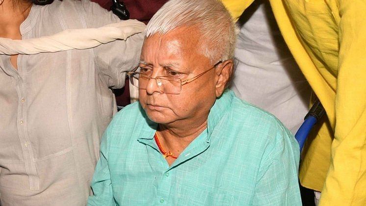 RJD chief Lalu Prasad to be shifted to AIIMS- Delhi from Ranchi hospital as health deteriorates