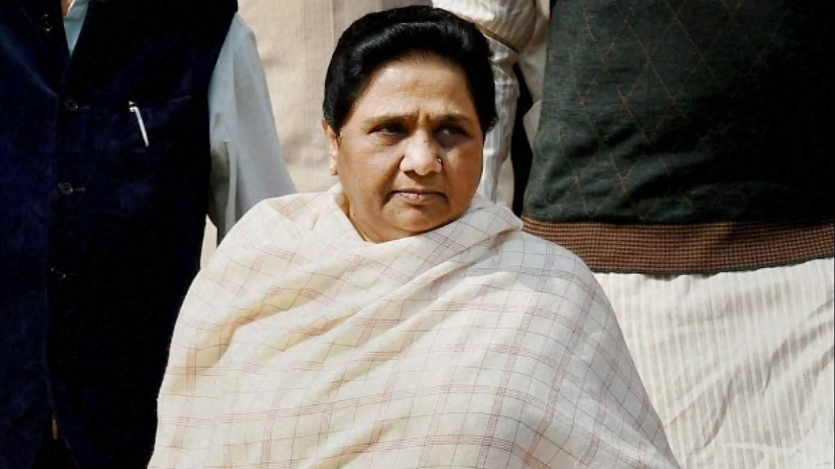 Mayawati distances self and party from Dalit protest over Ravidas temple
