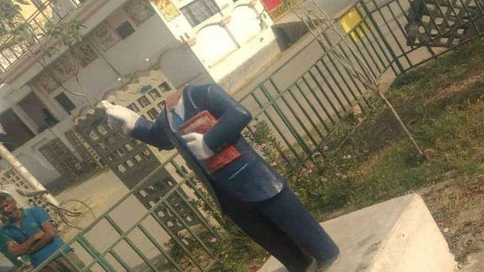 Miscreants vandalise 3 Ambedkar statues in UP's Azamgarh