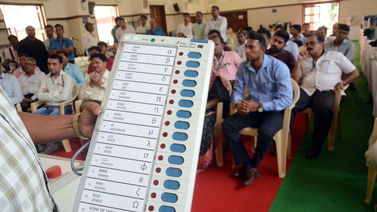 Opposition seeks ban on EVMs for Maharashtra polls