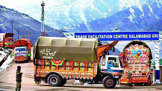 Pakistan formally suspends trade relations with India