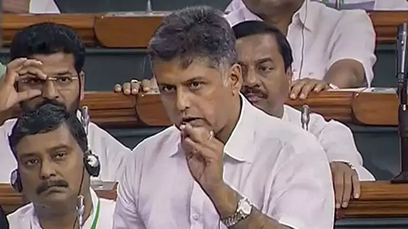Former Union Minister Manish Tewari takes up country's economic situation in address to Lok Sabha