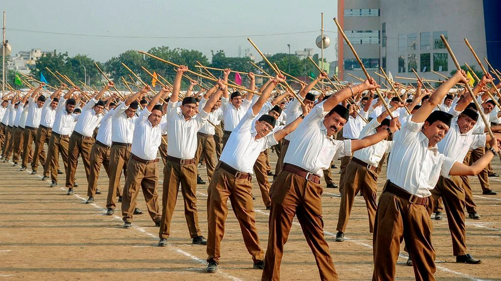 Minister Piyush Goyal wants security guards to join RSS shakhas for better 'weapon' training