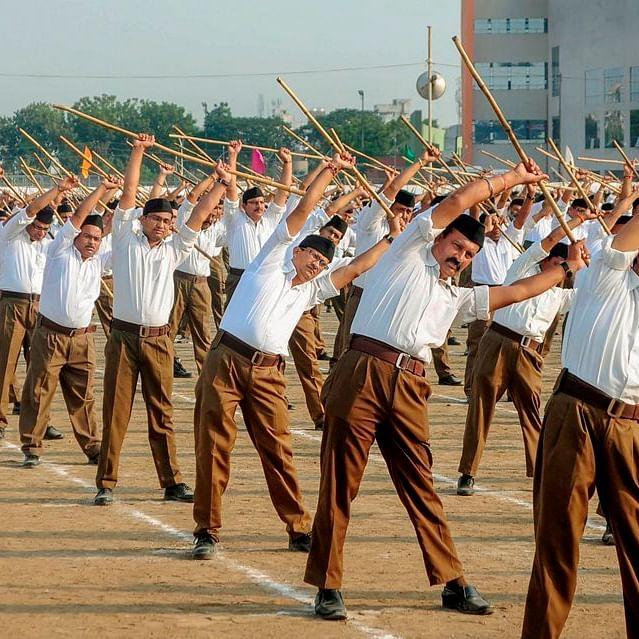 An RSS Shakha in progress