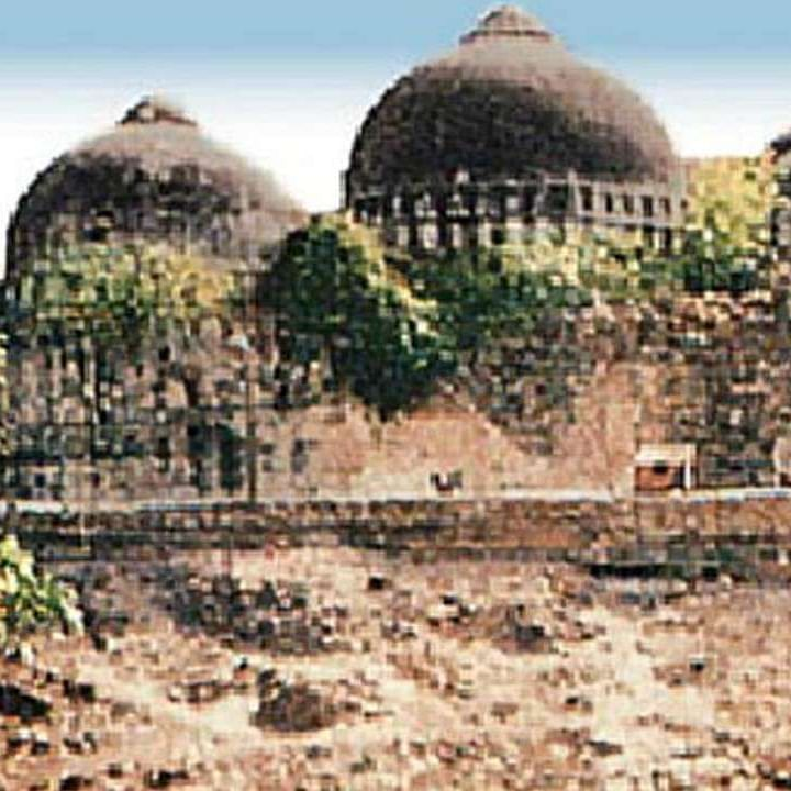 A file photo of Babri Masjid at Ayodhya