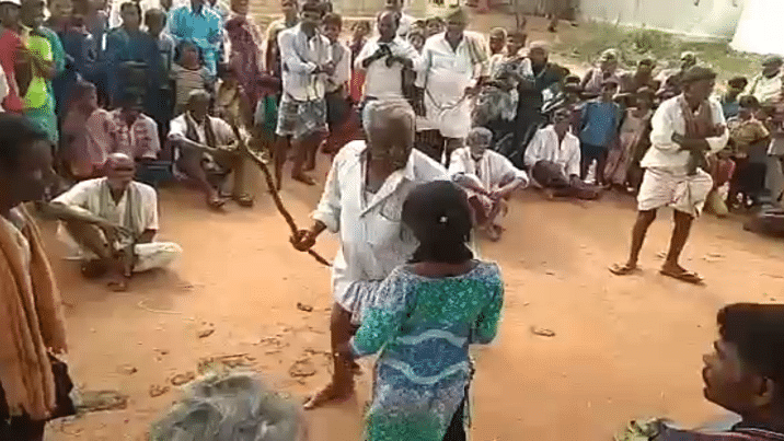 Andhra Pradesh: Village elder beat up girl with sticks for eloping