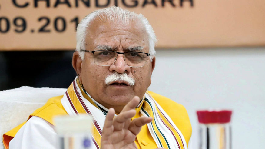 Congress demands an apology from Haryana CM Khattar