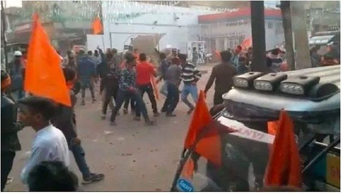 45 arrested for pelting stones at a VHP rally, section 144 imposed