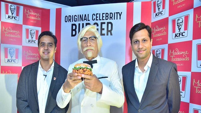 Celebrity status to KFC's Zinger, gets a statue at Madame Tussauds