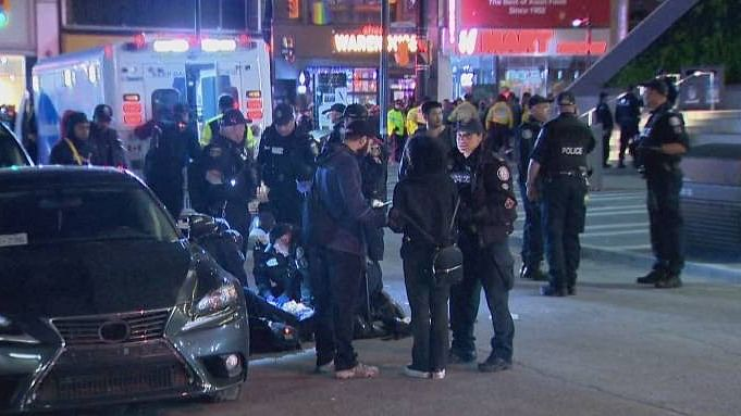 Five wounded in nightclub shooting in Toronto