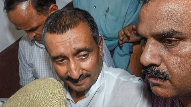Unnao case: CBI searches at residence of Kuldeep Singh Sengar, other accused