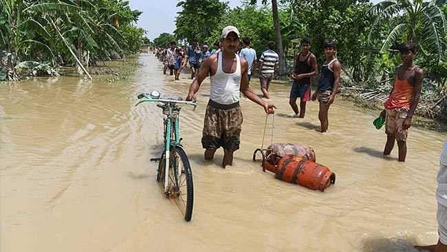 Bihar floods: Eyewitness accounts of the fury