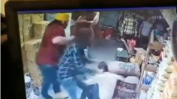 WATCH: A man becomes victim of road rage, claims accused robbed ₹15 lakhs from his shop
