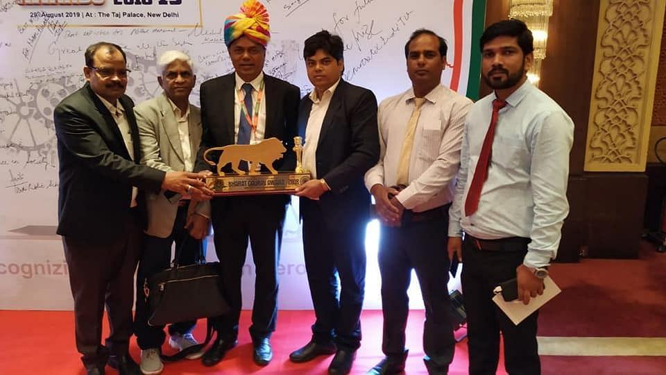 Suspended IAS officer surfaces in Delhi to receive Bharat Gaurav Award
