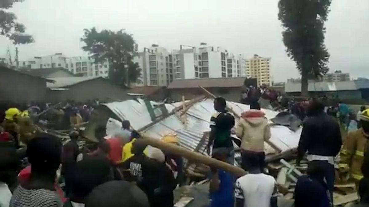 Seven children killed in Nairobi classroom collapse: medics