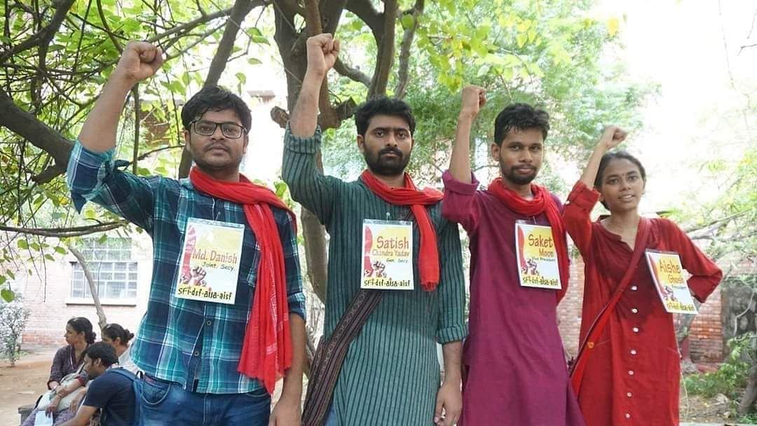 Left parties sweep JNU students union polls