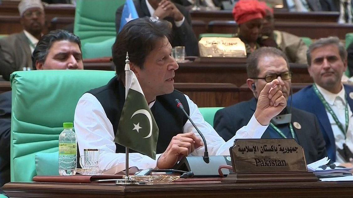 Pakistan PM Imran Khan is scheduled to address UNGA on Sep 27 (Photo courtesy: Social media).