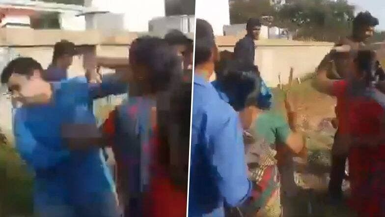 Tamil Nadu man thrashed by his 2 wives in public