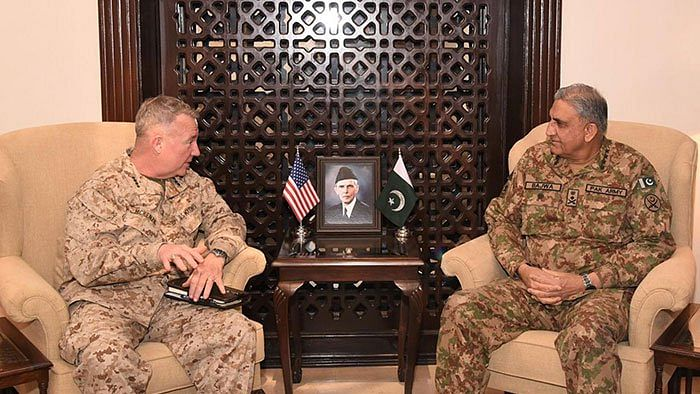 Top US, Pak military officials discuss Afghan, Kashmir