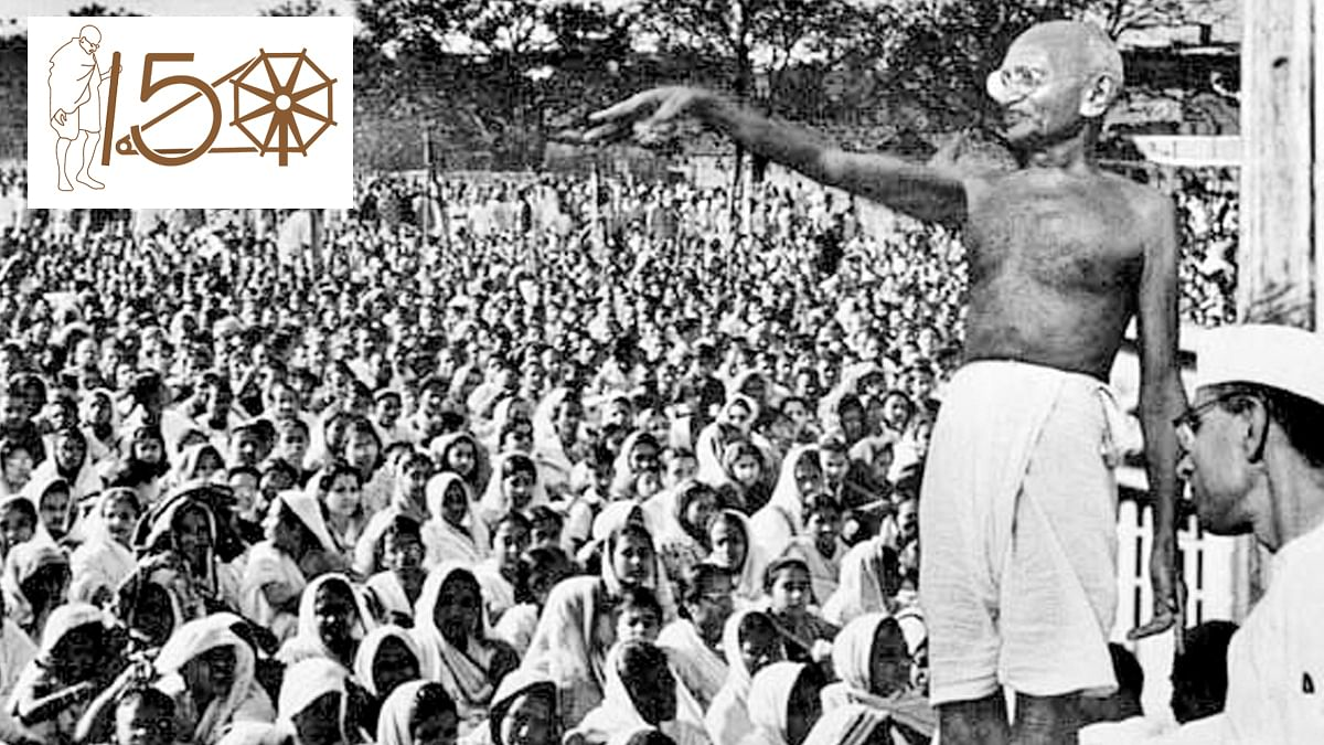 Mahatma Gandhi's legacy lives on in the Northeast