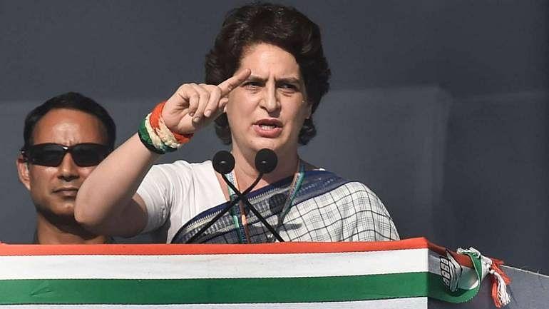 Priyanka Gandhi slams BJP over bid to 'adopt' Patel, who was 'strongly against RSS'
