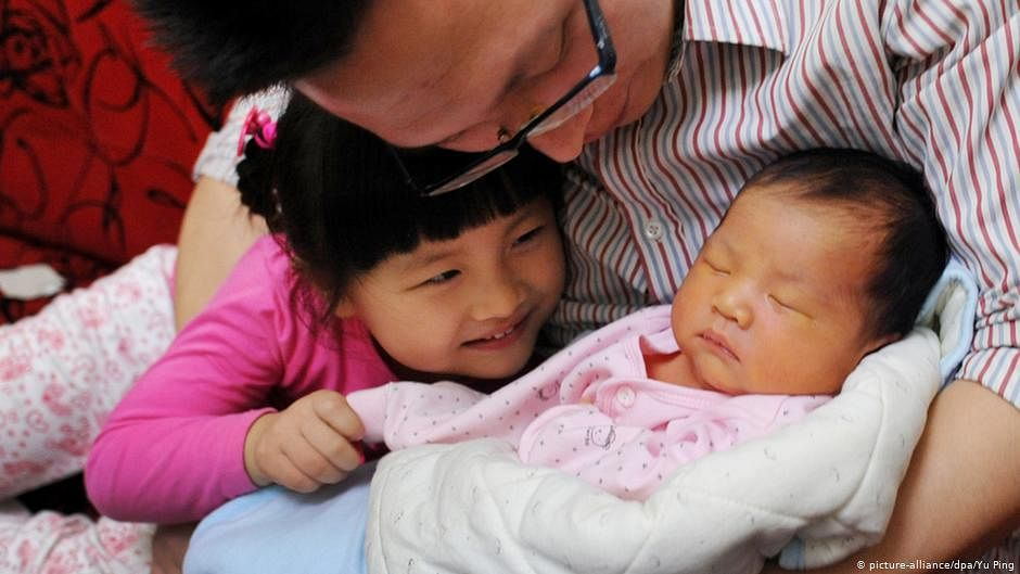 China's Communist Party to permit couples to have up to three children to cope with declining population