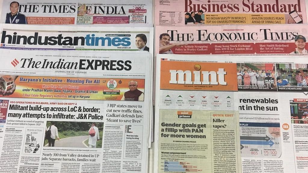 Front Pages This Morning - September 15, 2019
