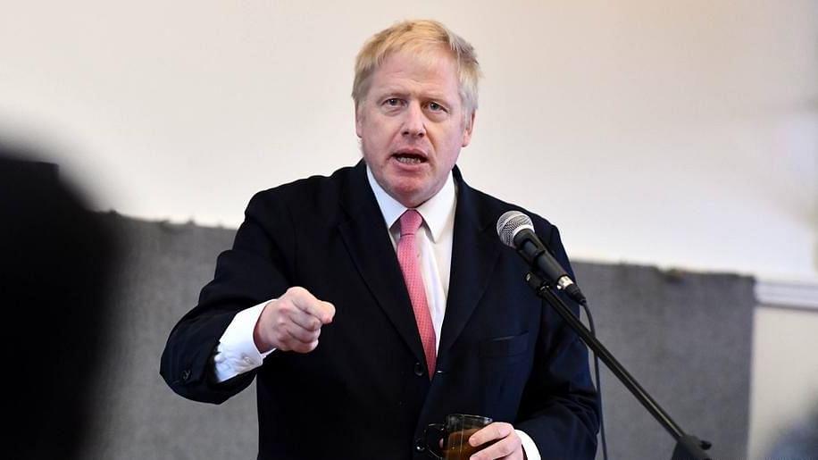 UK PM Boris Johnson (File photo)