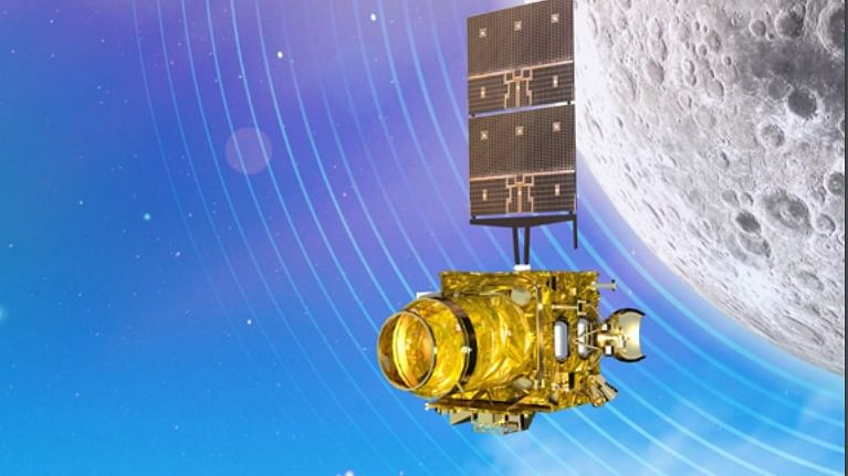 '95% of Chandrayaan-2 intact as orbiter flying around moon'