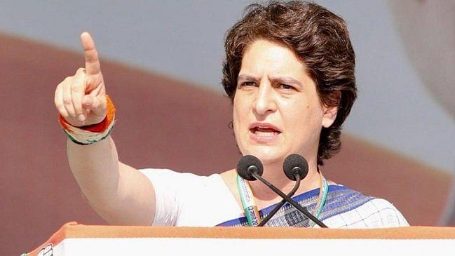 Yogi government nervous, destroying democracy in arrogance of power: Priyanka Gandhi