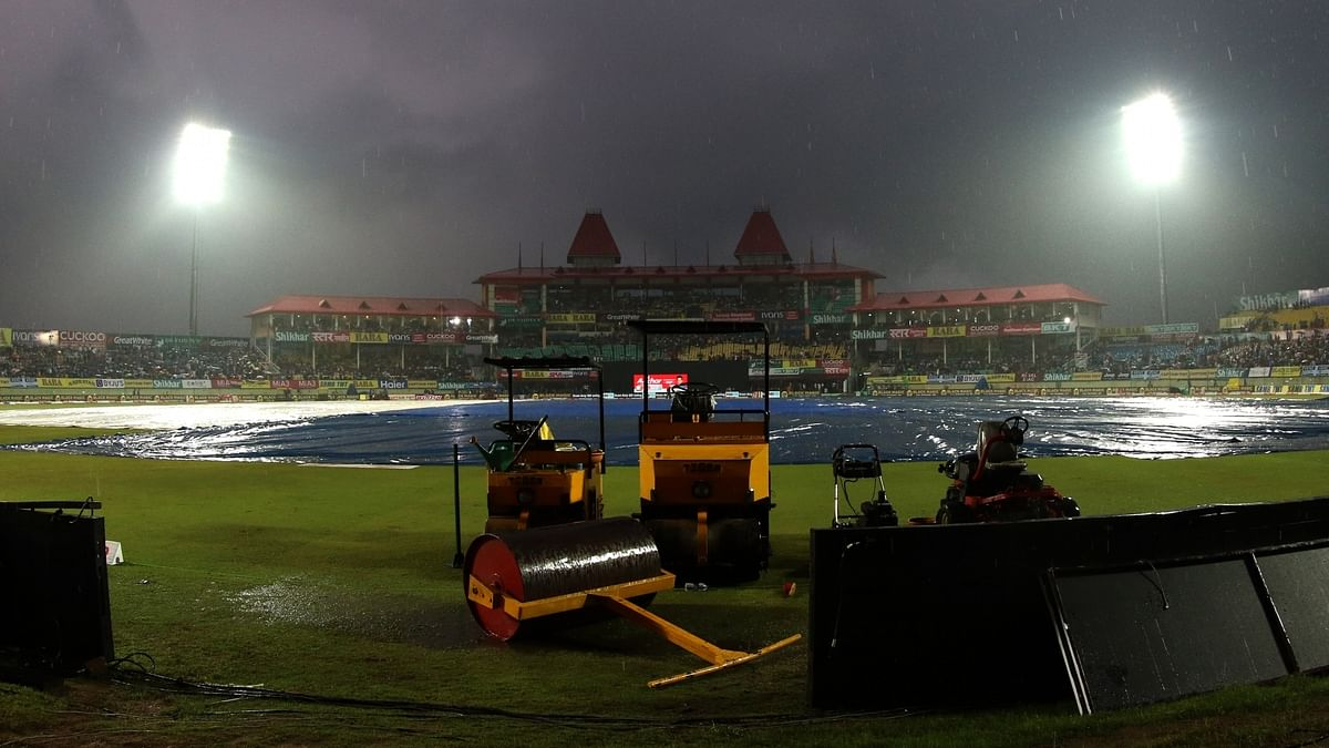 First T20 International between India and SA abandoned due to rain