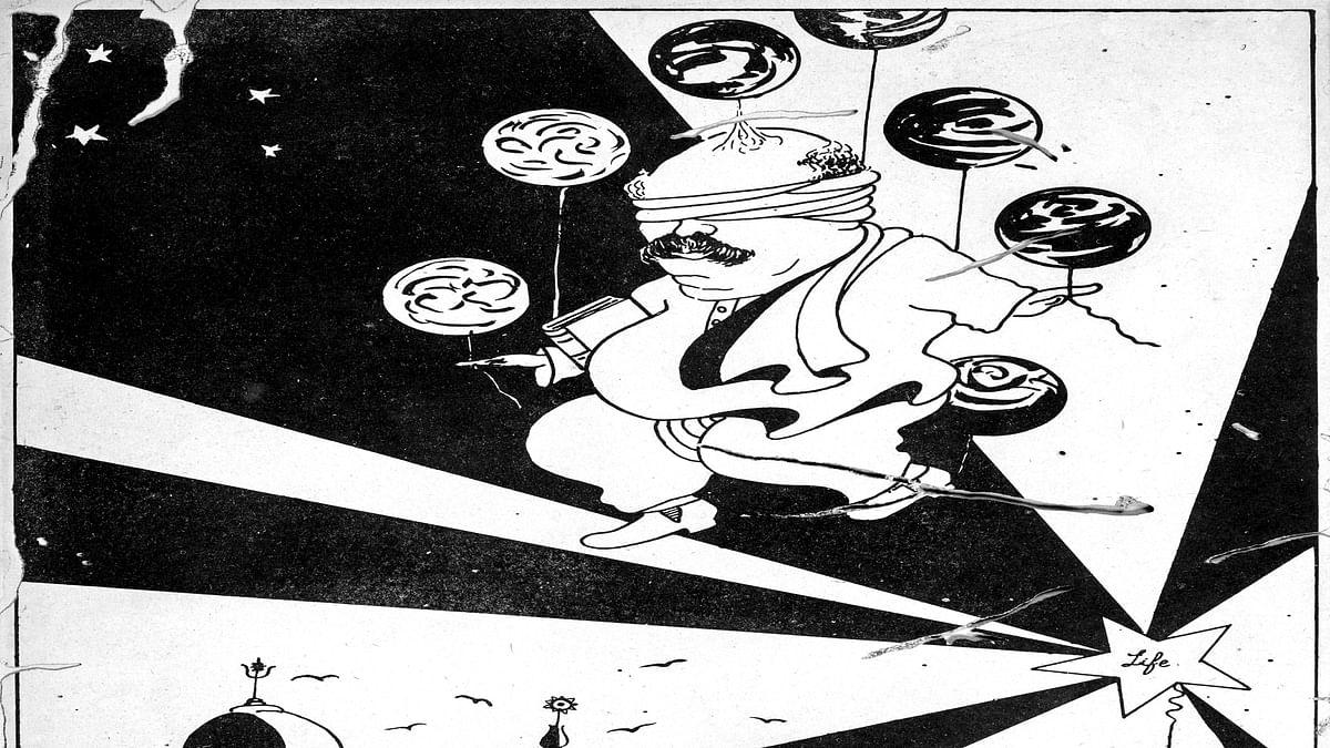 Cartoon by Gaganendranath Tagore