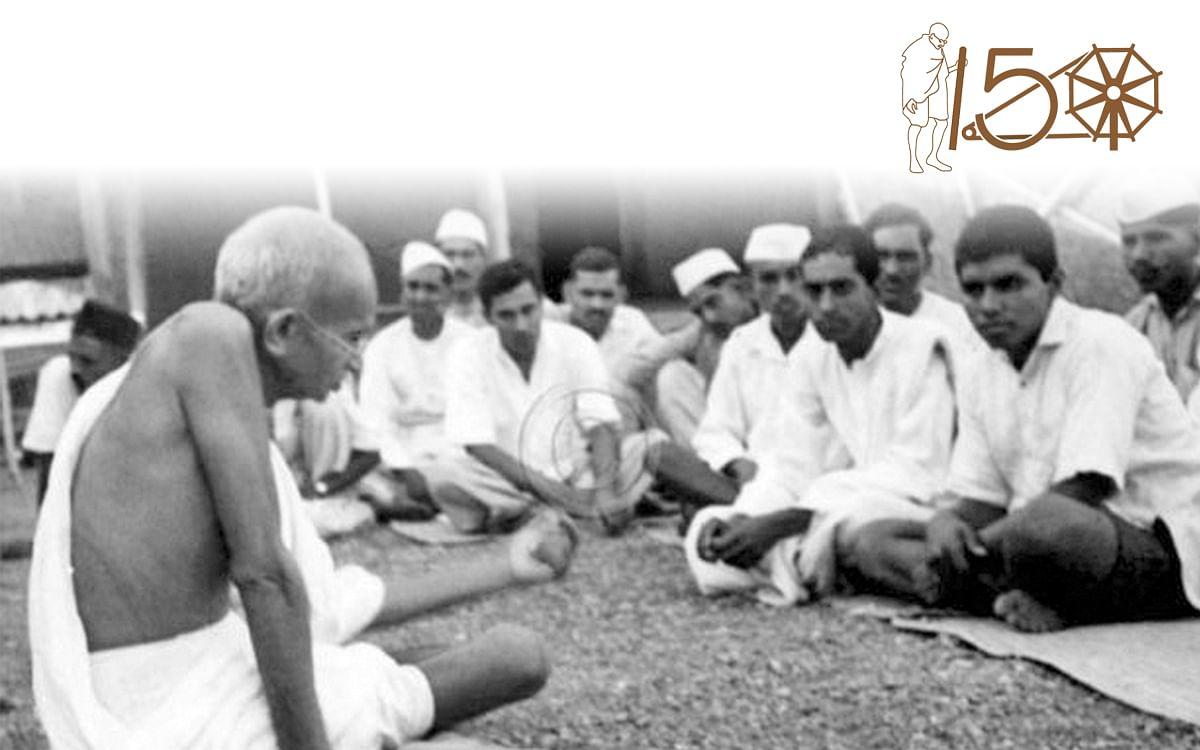 Gandhi denounced caste and untouchability