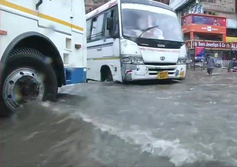 Heavy rains disrupt train services, life in Bihar