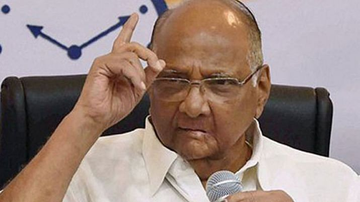 Nationalist Congress Party (NCP) president Sharad Pawar (file photo).