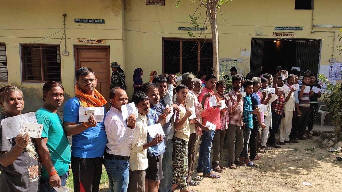 Hamirpur Assembly bypolls underway in UP
