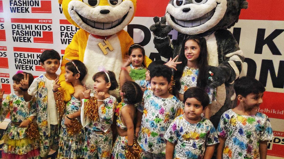 Honey-Bunny raise the fashion bar at the Delhi Kids Fashion Week