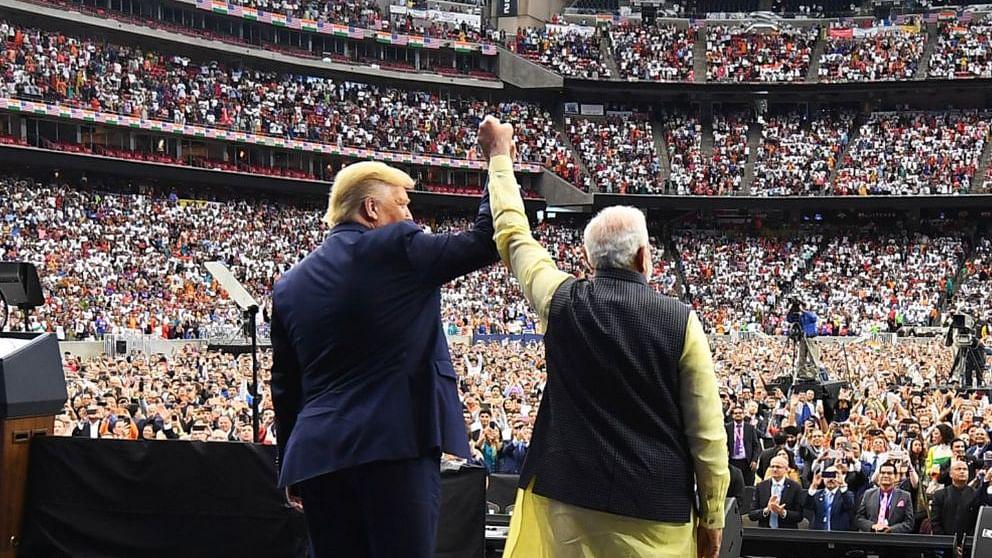 US President Trump and PM Modi