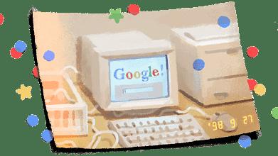Google celebrates its 21st birthday