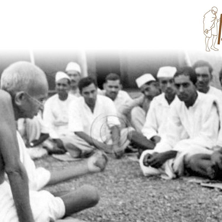 When Gandhi escaped lynching