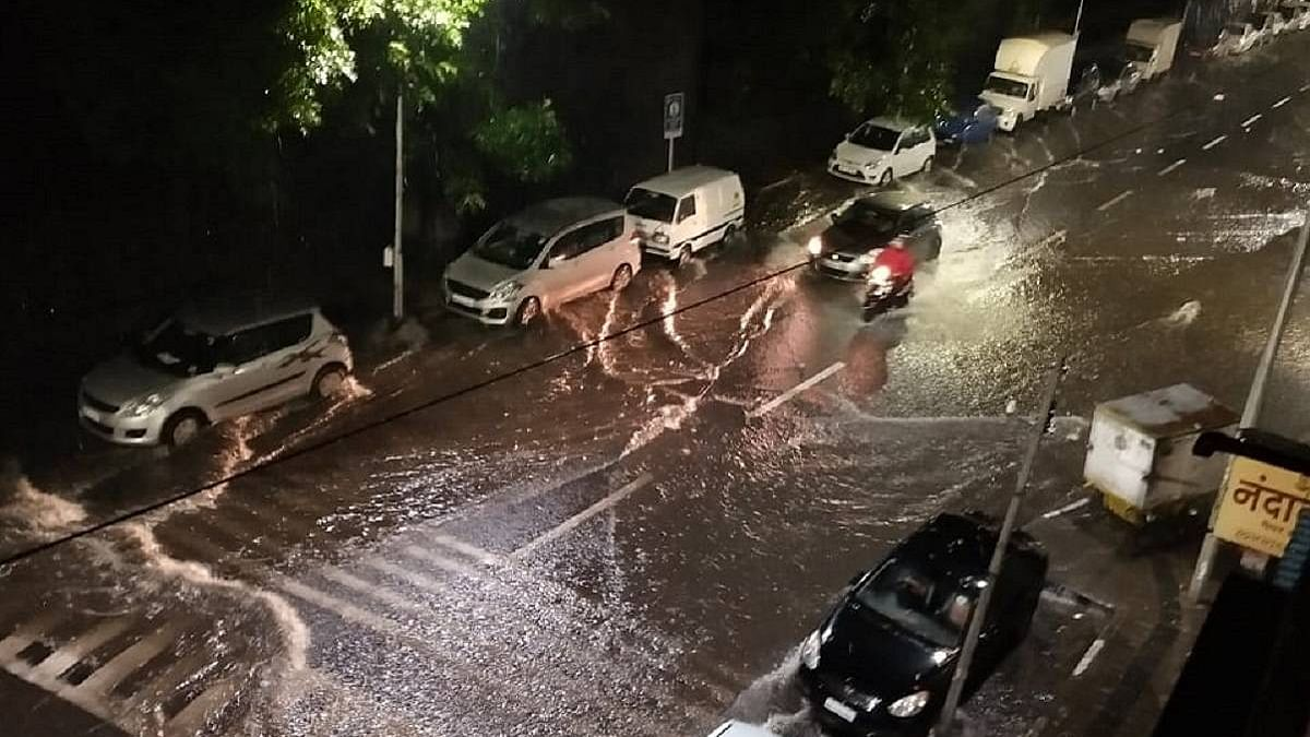 WATCH: A toddler rescued by officials of Pune Municipal Corporation during heavy rain